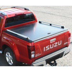 Couvre benne aluminium EGR Black Powder Coated Isuzu D-Max 2012-2020