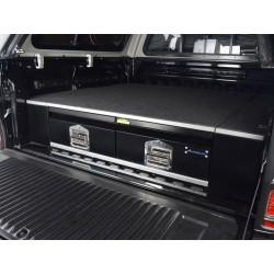 Plateaux + tiroirs de rangement Aeroklas pour Pick-up double cabine