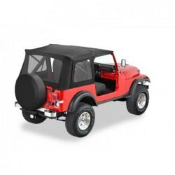 Bâche de remplacement Supertop Classic Bestop Jeep Wrangler YJ