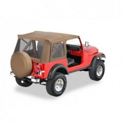 Bâche de remplacement Supertop Classic Spice Bestop Jeep Wrangler YJ