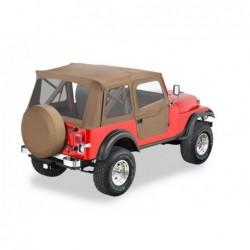 Bâche Supertop Classic Spice Bestop avec portes Jeep Wrangler YJ