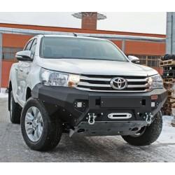 Pare-chocs avant aluminium Rival pour Toyota Hilux 2016-2019