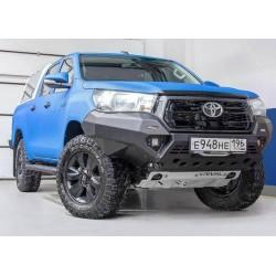 Pare-chocs avant aluminium Rival pour Mitsubishi L200 2015-2018