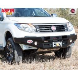 Pare-chocs acier support treuil Asfir pour Fiat Fullback 2016-2020