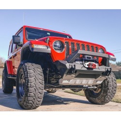 Blindages de protection aluminium Rival pour Jeep Wrangler JL 2018-2021
