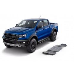 Blindages de protection aluminium Rival pour Ford Ranger Raptor PX 2.0 Bi-Turbo