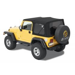 Bâche Supertop NX Bestop Black Twill Jeep Wrangler TJ 1997-2006