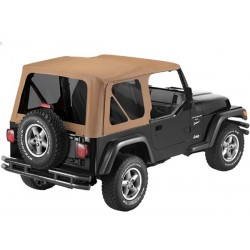 Bâche Supertop NX Spice Bestop Jeep Wrangler TJ 1997-2006