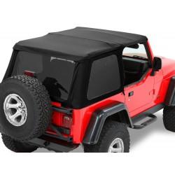Bâche Trektop NX Bestop Black Twill Jeep Wrangler TJ 1997-2006