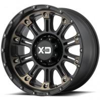 Jante aluminium KMC XD829 Hoss 2 Satin Black Machined Dark Tint