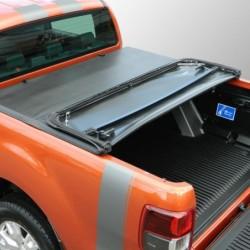 Bâche souple semi-rigide pour Ford Ranger Double-Cabine 2012-2020