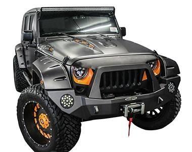 Extensions d'ailes Bushwacker Jeep Wrangler JK