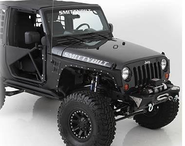 Extensions d'ailes smittybilt  Jeep Wrangler JK