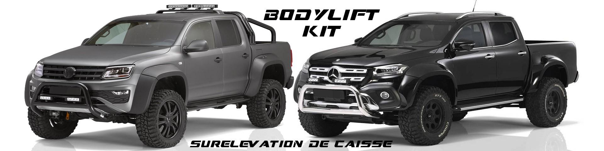 Accessoires4x4, les nouveautées :  Body lift Kit