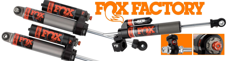 Accessoires4x4, les nouveautées :  Amortisseurs FOX