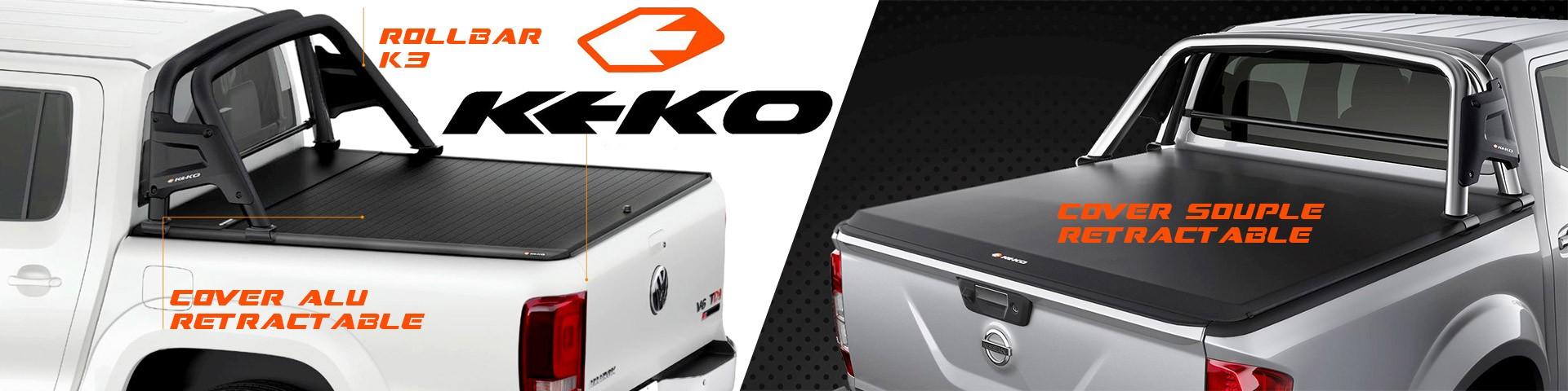 Accessoires4x4, les nouveautées :  Keko