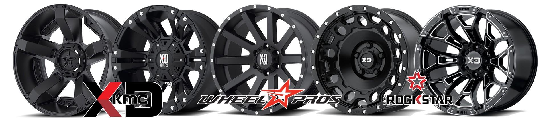 Accessoires4x4, les nouveautées :  Jantes KMC Wheel Pros